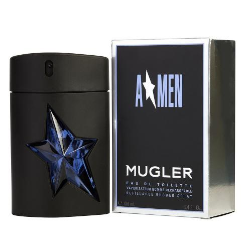 A MEN MUGLER EDT VAP.GOMME RECHARGEABLE.100ML