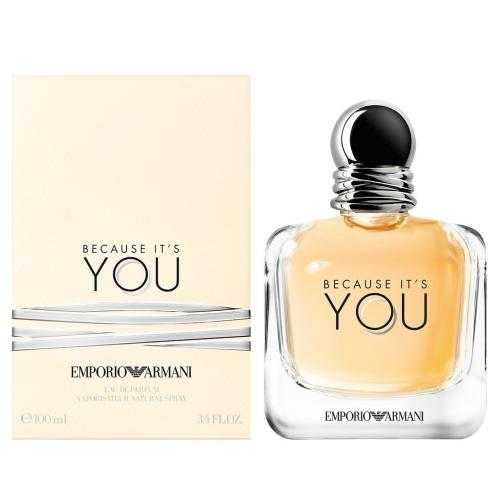 BECAUSE IT'S YOU 100ML EDP SP.