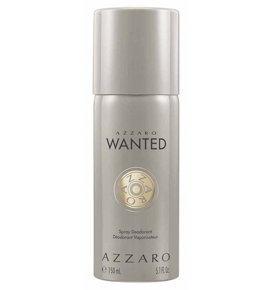 DESODORANTE AZZARO WANTED 150 ML