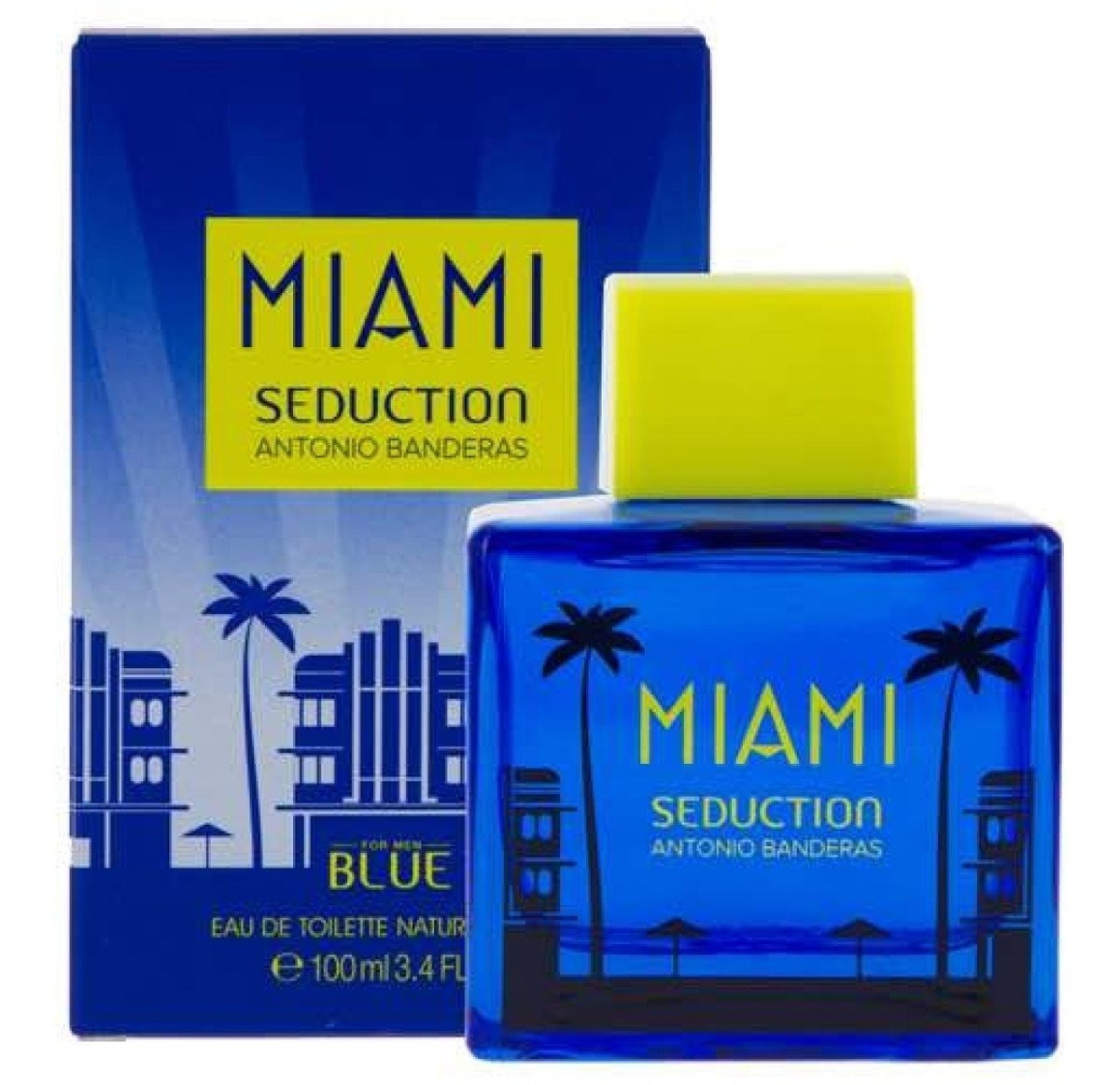 BLUE SEDUCTION MIAMI EDT SP.100ML