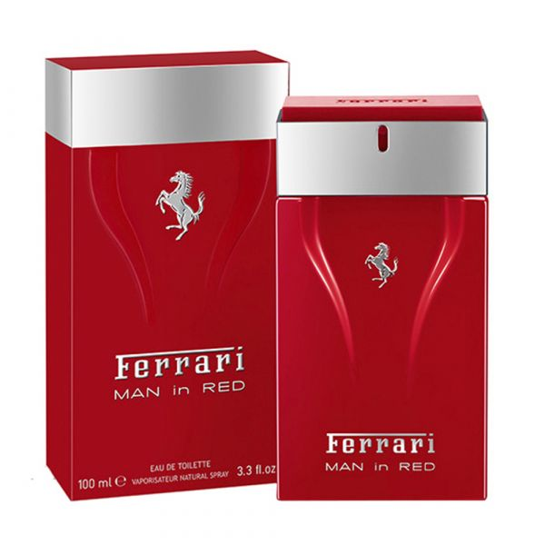 FERRARI MAN IN RED EDT VAP.100ML