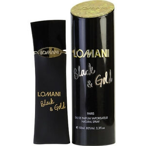 LOMANI BLACK & GOLD EDP 100ML