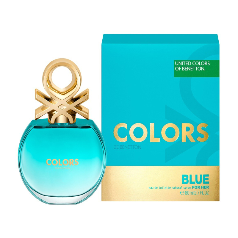 UCB COLORS BLUE EDT 80ML