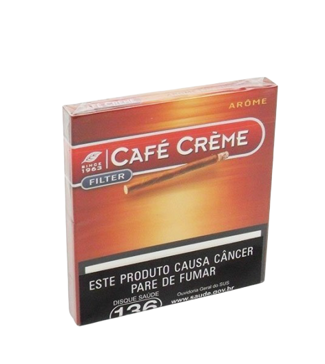 PURITOS CAFE CREME AROME CAJA X 10