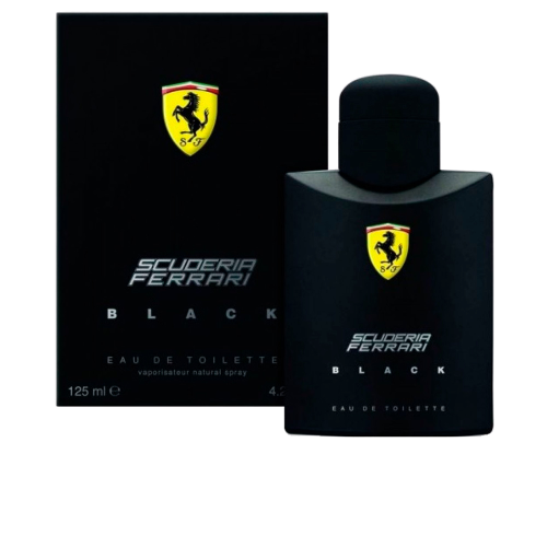 FERRARI SCUDERIA BLACK EDT 125ML