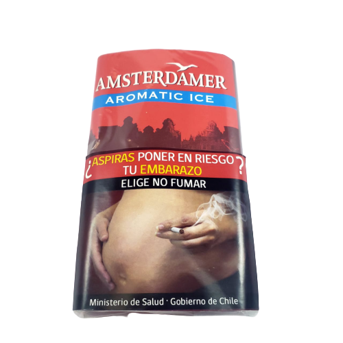 TABACO AMSTERDAMER AROMATIC ICE 30GR.
