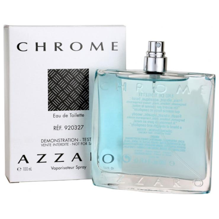 TESTER AZZARO CHROME EDT 100ML