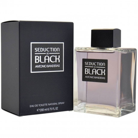 BLACK SEDUCTION EDT 200ML