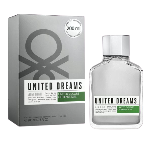 UNITED DREAMS F/MEN AIM HIGH EDT SP.200ML
