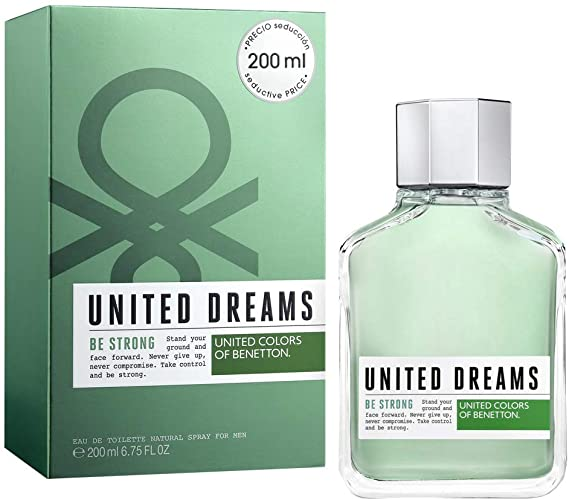 UNITED DREAMS BE STRONG F/MEN EDT SP.200ML
