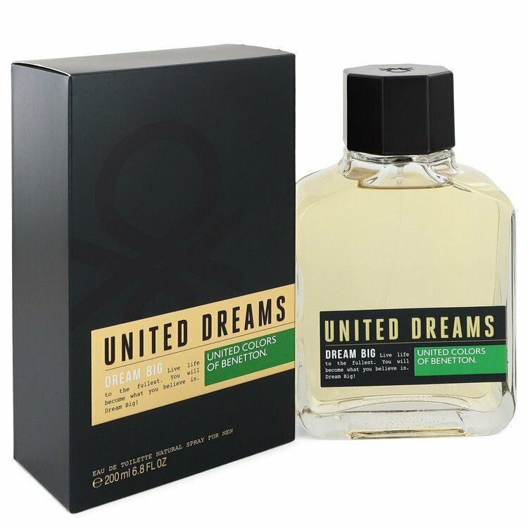 UNITED DREAMS F/MEN DREAM BIG EDT SP.200ML