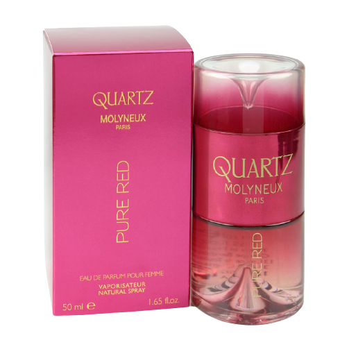 QUARTZ PURE RED EDP 50ML