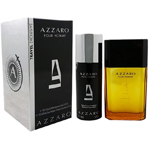 SET AZZARO TRAVEL EDT 100ML + DEO 150ML