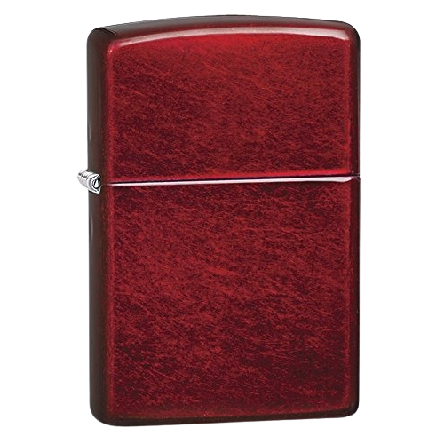 ENC. ZIPPO 21063 CANDY APPLE RED MT