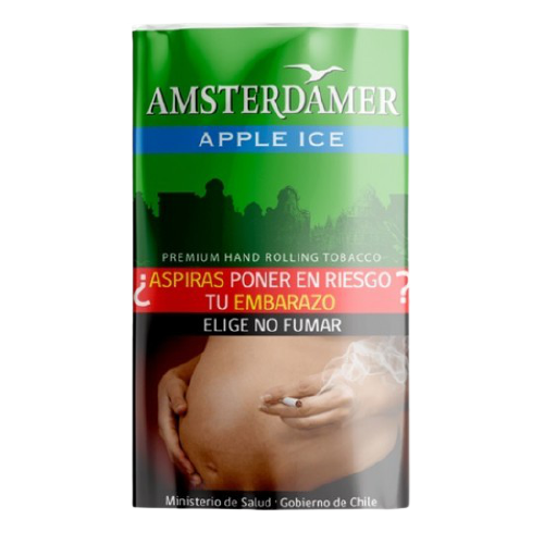 TABACO APPLE ICE AMSTERDAMER  30GR.