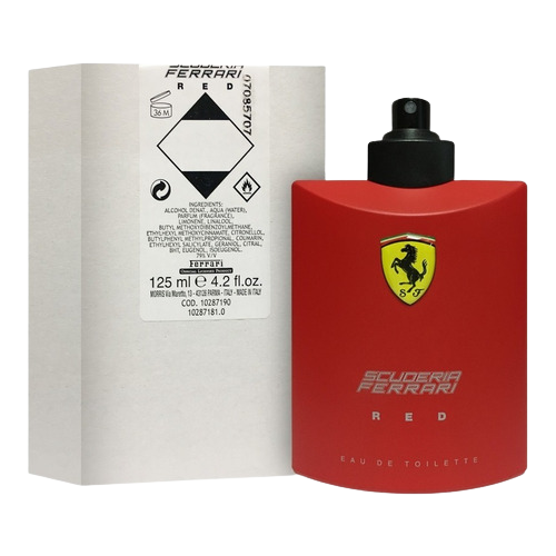 TESTER FERRARI SCUDERIA RED EDT 125ML