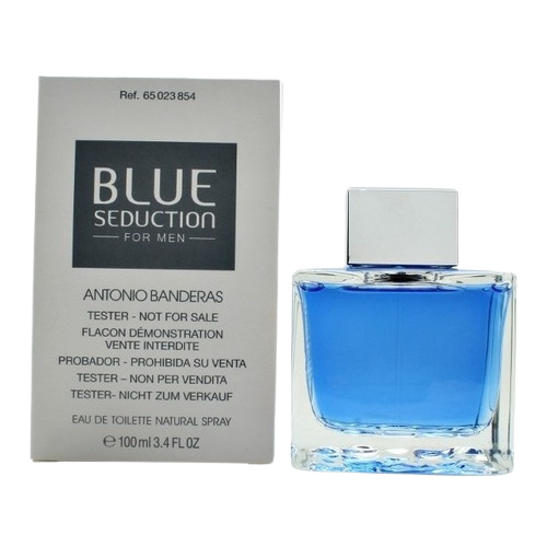 TESTER BLUE SEDUCTION EDT 100ML