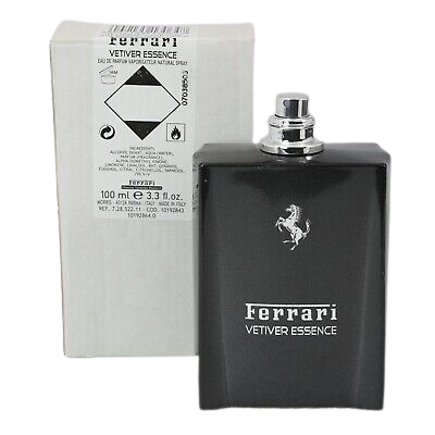 TESTER FERRARI VETIVER ESSENCE EDP 100 ML